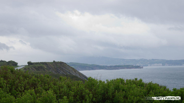 Atlantik bei Irun im Baskenland