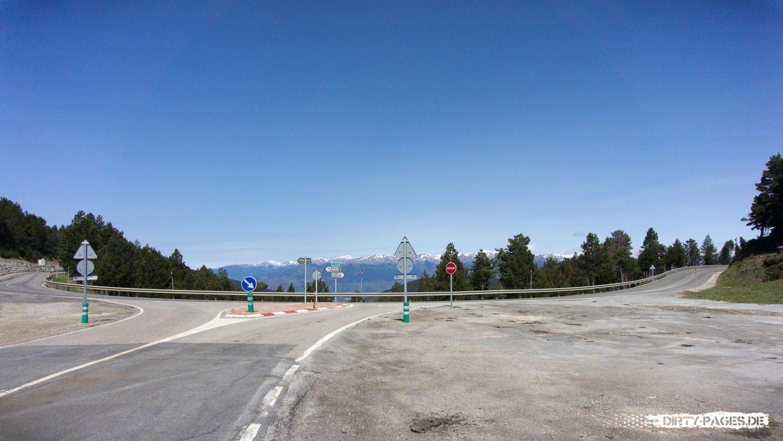 Rennrad fahren in den Pyrenäen