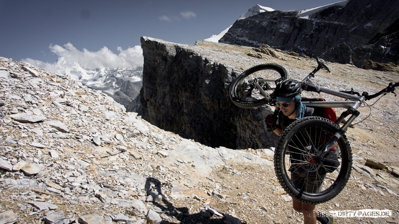 Mit dem Mountainbike aufs Barrhorn